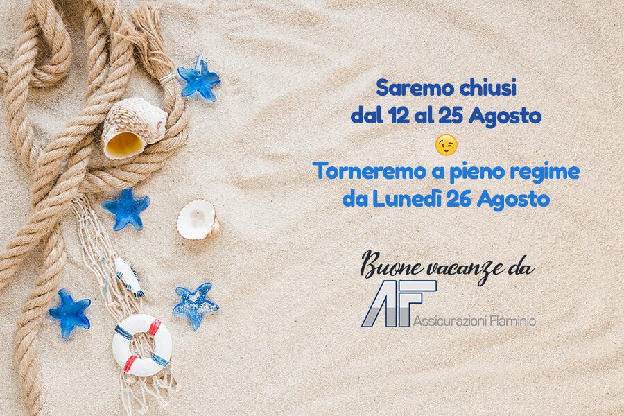 Ferie Assiflaminio 2019